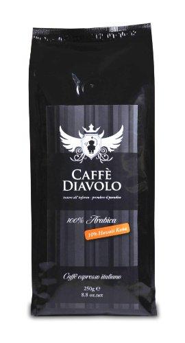 Caffé Diavolo - Nero Hawaii Kona - 250 Gramm, Bohne