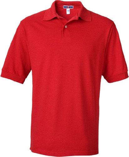 Die Erwachsenen Piqué Polo mit spotshield Rot - True Red