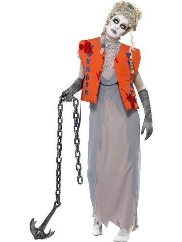 Zombie Kostüm Schiffbrüchige mit Rettungsweste, Größe:M