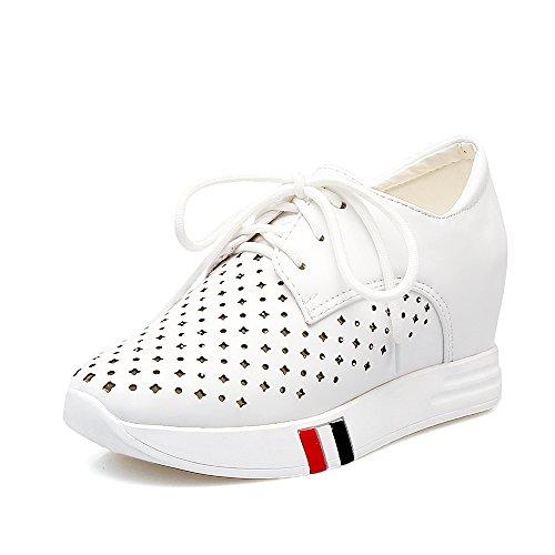 Annieshoe, Black Zapatos Con Cordones De Mujer