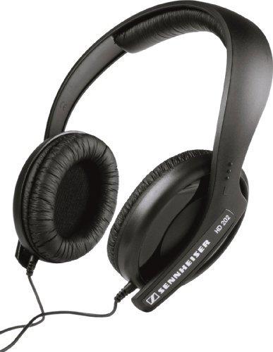 Sennheiser HD 202 II Professional Over-Ear Headphones (Black)