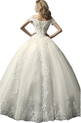 Ikerenwedding - Robe - Femme Small Blanc