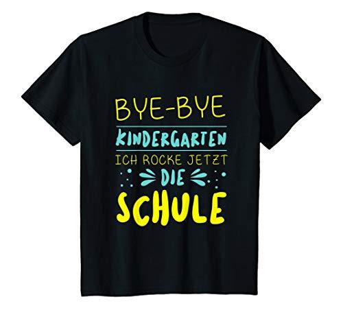Kinder Ich Rocke Jetzt Die Schule Grundschule Kindergarten Geschenk T-Shirt -