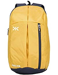 Killer Jupiter Yellow Small Outdoor Mini Backpack 12L Daypack