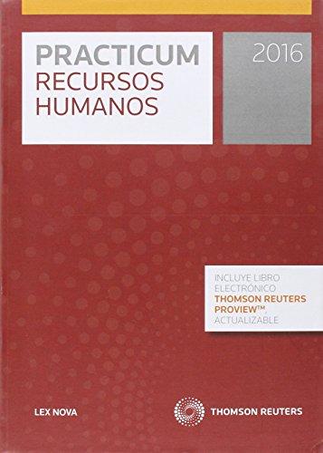 Practicum recursos humanos 2016 por Aa.Vv