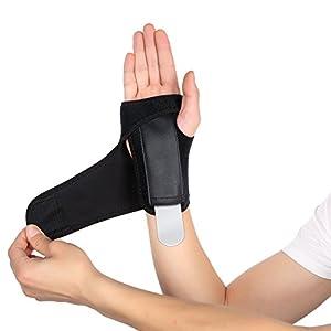 Handgelenkbandage, GSOTOA Handgelenk Schienen Handbandage Handgelenkstütze Verstellbare Handgelenkschutz Ideal für Karpaltunnelsyndrom oder Verstauchungen Handgelenkschoner [1 paar]