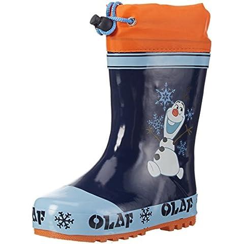 Die Eiskönigin Boys Kids Rainboots Boots - botas de media caña con forro cálido y botines Niños