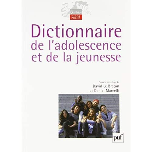 Dictionnaire de l'adolescence et de la jeunesse by David Le Breton;Daniel Marcelli;Collectif(2010-10-06)
