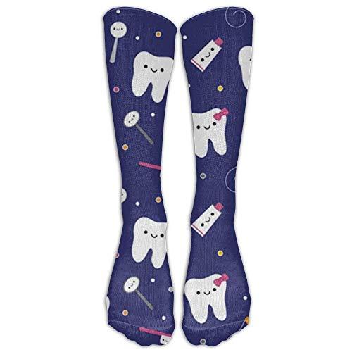Funny&shirt Black Scottie Dog Stockings Long Tube Socks Great Quality Classics Knee High Socks Sports Socks For Women Teens Girls 19.68 Inches
