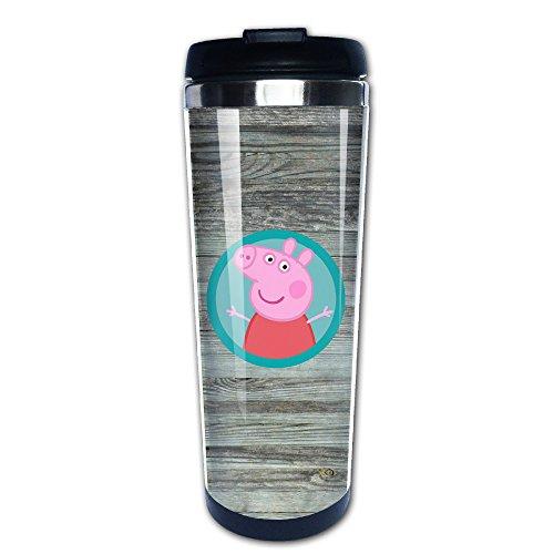 lizizz Peppa Pig Edelstahl Tasse/Kaffee Thermos & Isolierflasche