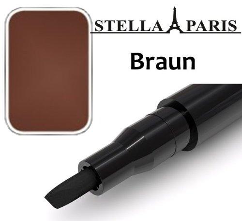 Stella Paris Permanent Augenbrauen-Stift No. 77 Braun