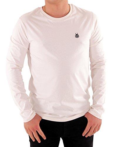 Maratus Herren Bio Langarmshirt Fair Wear Weiß 2