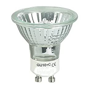 Ex-Pro 2 x - GU10C, GU10-C Daylight replacement bulbs [2 PACK] for Mini Daylight Kits. (Ex-Pro & other brands using GU10 fitting). 220v True Daylight light.
