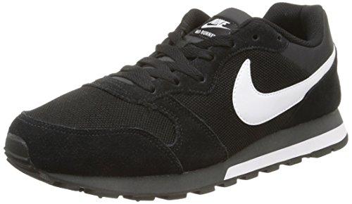Nike Md Runner 2, Herren Gymnastikschuhe, Schwarz (Black/White-Anthracite 010), 47.5 EU