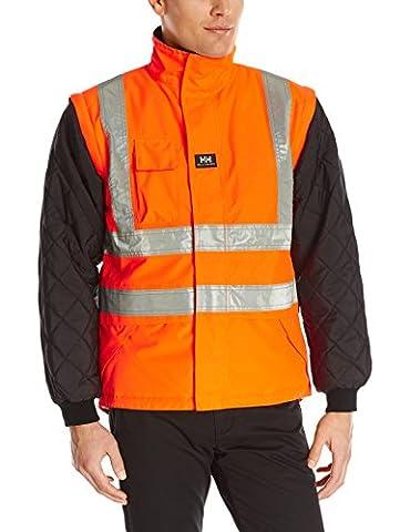 Helly Hansen Work Wear Men's Potsdam Lining, EN471 Orange/Black, X-Large