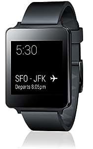 LG G Watch W100 Montre pour Smartphone Noir