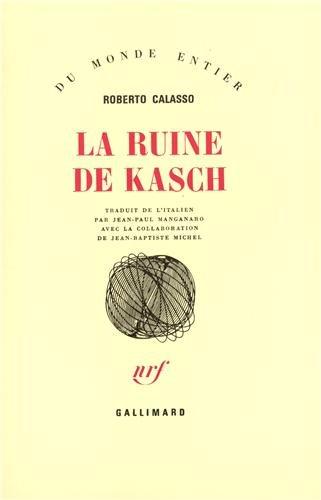 La Ruine De Kasch [Pdf/ePub] eBook