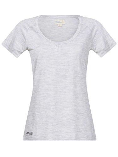 Bergans Damen T-Shirt Sveve Wool alu melange