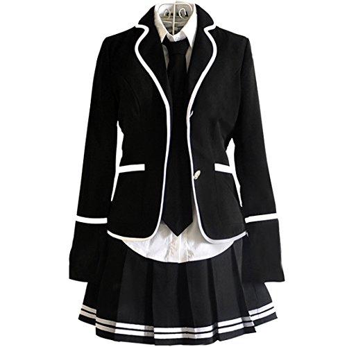 URSFUR Mädchen Japan Kostüm Langärmelige Anzug Cosplay Uniform Anime Uniform (3xl Brust 94-98 cm, Style 13)