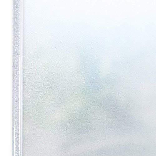 Homein Vinilo Ventana Película de Ventana para Privacidad Sin Cola Vinilo Deslustrado Electricida Estática Autoadhesivo Facíl Desmontar y Reutilizar de Baño Cocina Oficina Anti UV 90 * 200cm