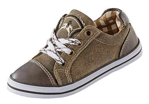Maddox Kinder Sneaker Nepomuk holz antik (26, Holz Antik) (Sneaker Braune Jungen)