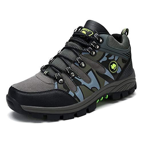 Qianliuk Herren Wanderschuhe Outdoor Camping Warm Atmungsaktive Schuhe Männer Trekking Wanderschuhe