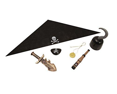 My Other Me - Set base con accessori per travestimento da Pirata, Taglia unica