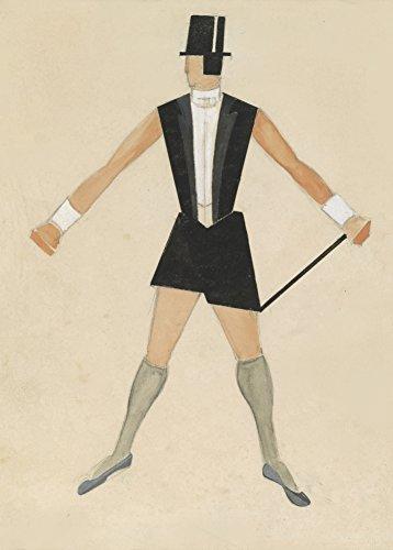 Vintage Ballett Alexandra Exter Kostüm Design für Fahrer in der Sport- und Touring Ballett Revue C1925250gsm, Hochglanz, A3, vervielfältigtes Poster