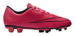 Nike Mercurial Vortex II FG, Fußballschuhe, Hyper Pink/Hyper Pink/Black/Black, EU 40.5 (US 7.5)
