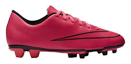 Nike Mercurial Vortex II FG Botas de fútbol, Hombre, Rosa / Negro, 42
