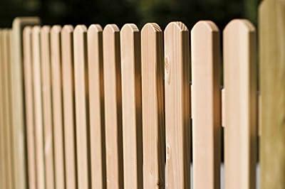 Menz Zaunbrett Fichte kdi 18x90 mm 120 cm lang, Typ A, Holz Zaunlatten Latte Stakete von Gartenwelt Riegelsberger von Gartenwelt Riegelsberger auf Du und dein Garten