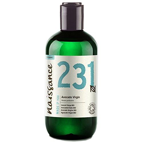 Naissance Aguacate BIO - Aceite Vegetal Prensado en Frío 100% Puro - Certificado Ecológico - 250ml