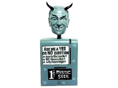 Twilight Zone Wackelkopf-Figur Mystic Seer 17 cm