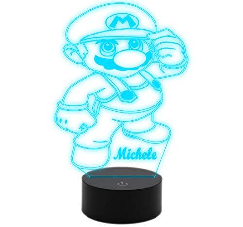 Generic-LED Nachtlicht Super Mario Geschenkidee Geburtstag Kinder Tisch