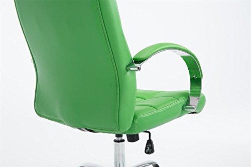 Poltrona ufficio verde sedile sportivo per ufficio detroit con