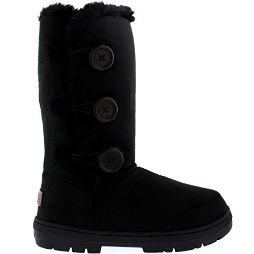 womens-triplet-button-fully-fur-lined-waterproof-winter-snow-boots-black-7-40-aea0153