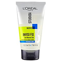 Idea Regalo - l'Oréal Paris Studio Line Invisi Fix Gel Fissaggio Forte - 150 ml