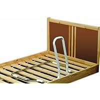 NRS Healthcare M15708 - Asidero-barandilla plegable para cama
