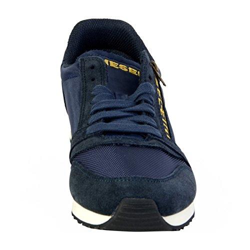 Diesel Black Jake Slocker S - Sneak, Baskets Basses homme Bleu