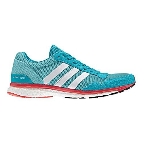 adidas Adizero Adios W, Chaussures de Course Femme Bleu