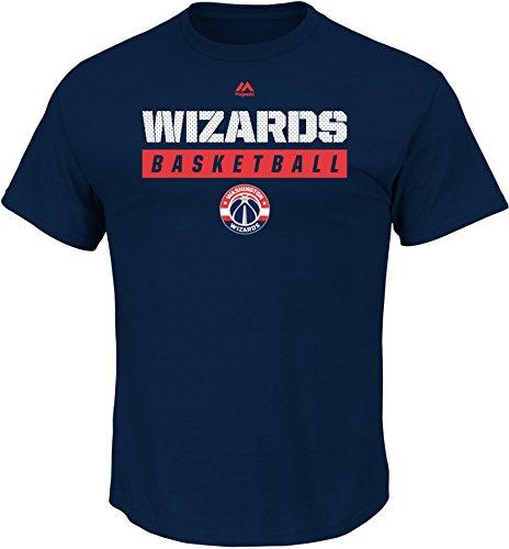 "Washington Wizards Majestic NBA ""Proven Pastime"" Short Sleeve Men's T-Shirt"