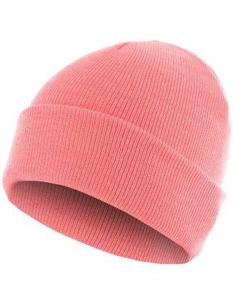 MSTRDS Beanie Pastel Basic Flap lt. pink