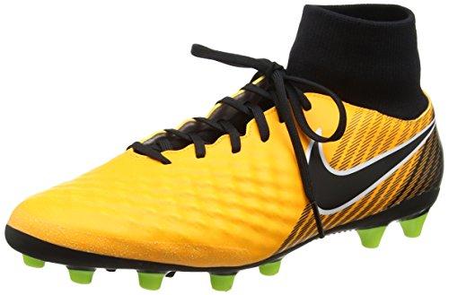 Nike Magista Onda Ii Dynamic Fit (Ag-Pro), Chaussures de Football Homme Orange (Laser Orange/Black-White-Vert Volt-White)