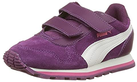 Puma St Runner Sd V Ps, Sneakers Basses Mixte Enfant, Violet (Dark Purple-Marshmallow), 29 EU