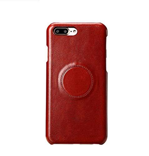 WLWLEO Für Samsung S8 Ledertasche, magnetischer Autotelefonhalter kompatibel für Samsung S8 Plus rot, schwarz,Red,SamsungS8Plus