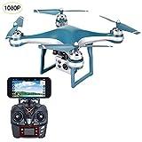 Drone GPS K10 Posizionamento Drone RC con telecamera 1080P Fotografia aerea Wifi Trasmissione in tempo reale Altezza fissa automatica A seguito di controllo remoto Aeromobili professionali Drone