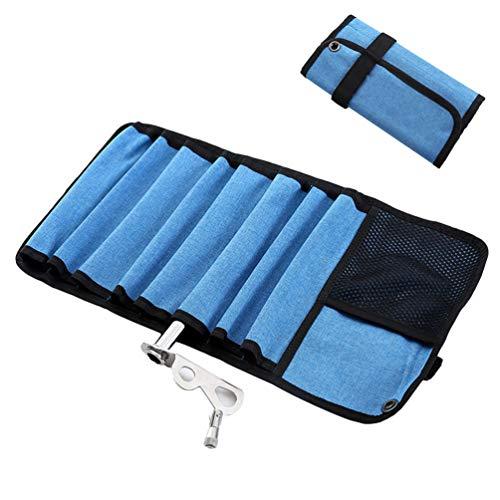 Lin-Tong Klettern Aufbewahrungstasche Wasserdicht Faltbar Tragbar Multi Taschen Gadget Bag Karabiner Collection Bag Kulturbeutel für Camping Reisen -