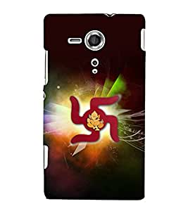 printtech Lord God Ganesha Swastik Back Case Cover for One Plus X