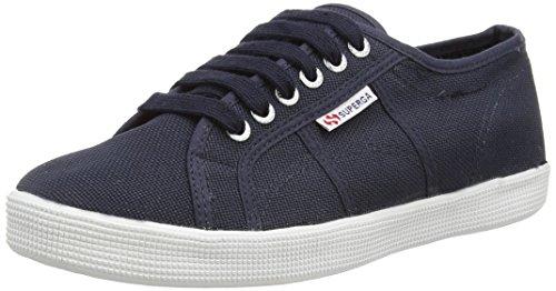 Superga 2832 Nylu, Sneakers Basses Unisexe adulte Bleu (Bleu marine)