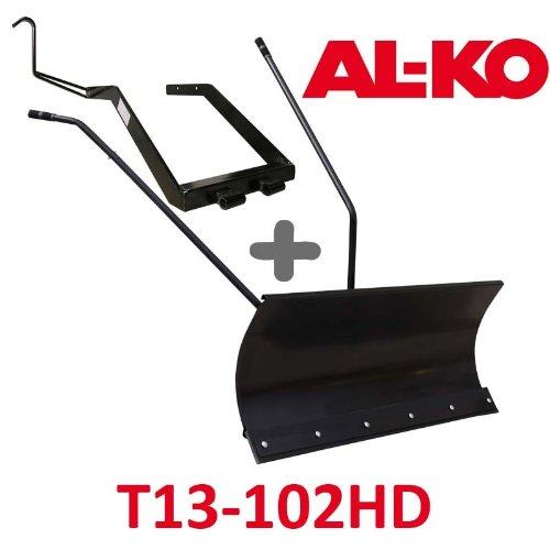 Lame à Neige 118 cm Noire + adaptateur pour AL-KO T13-102HD